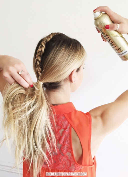the beauty department airspray pantene