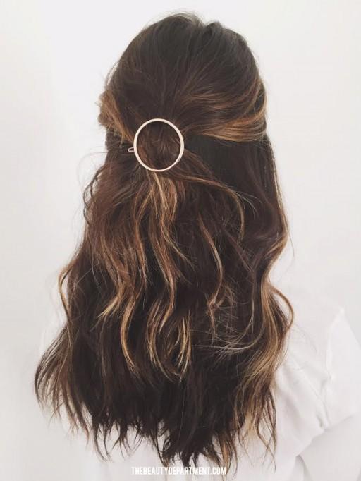 circle clip barette