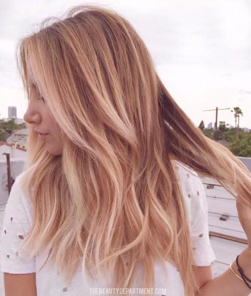 ashley tisdale hair color rose filter irl